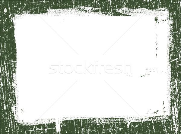 Frontière 12 détaillée vecteur grunge Photo stock © PokerMan
