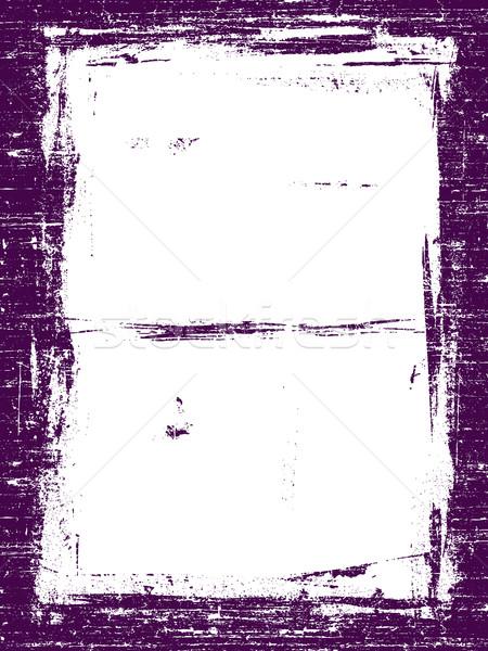 границе подробный вектора Гранж графических Сток-фото © PokerMan