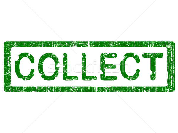 Grunge Office Stamp - COLLECT Stock photo © PokerMan
