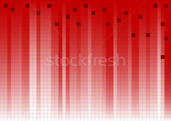 Red Fading Business Graphic Stock photo © PokerMan
