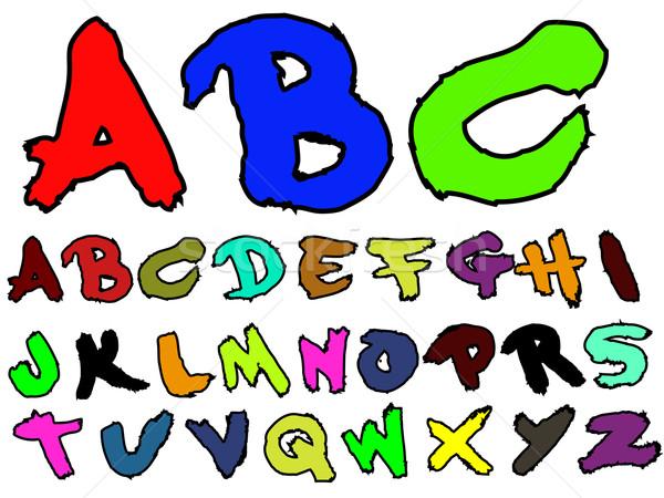 ADB Hand Drawn Fat Brush 2 Stock photo © PokerMan