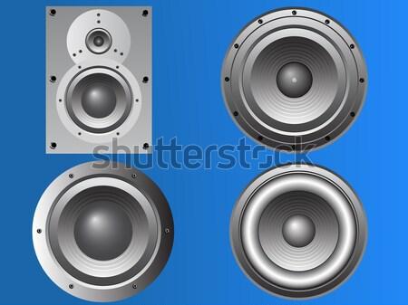 Large Loudspeaker Cabinet Stock photo © PokerMan
