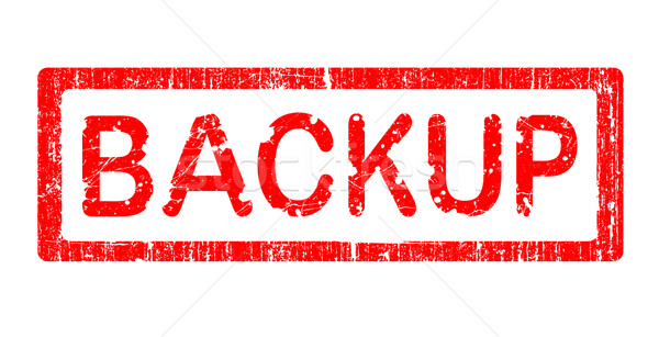 Grunge Office Stamp - BACKUP Stock photo © PokerMan