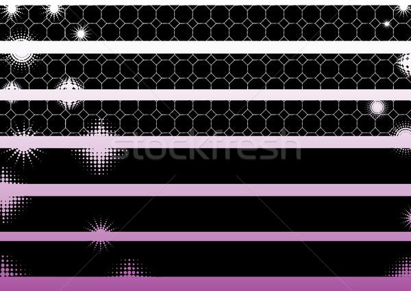 черный графических Элементы Гранж можете используемый Сток-фото © PokerMan