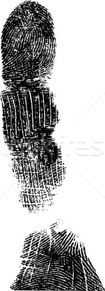Full FingerPrint 3 Stock photo © PokerMan