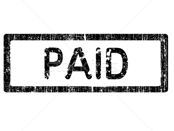Grunge Office Stamp - PAID Stock photo © PokerMan