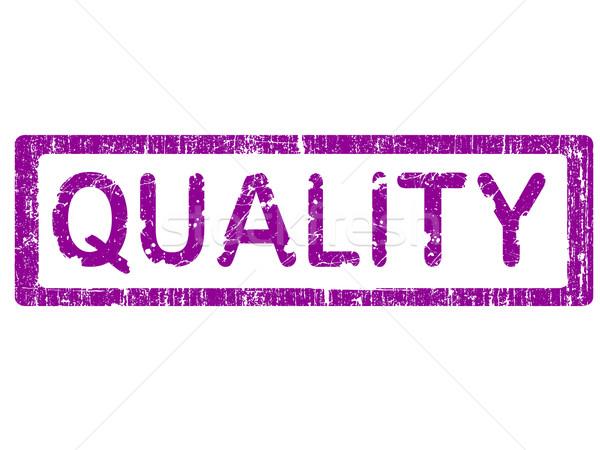 Grunge Office Stamp - QUALITY Stock photo © PokerMan