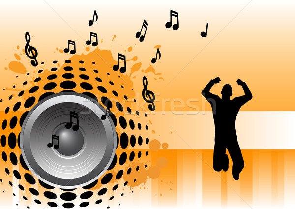 Music - Jumper Stock photo © PokerMan