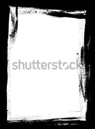 Plein page frontière peinture peuvent utilisé Photo stock © PokerMan