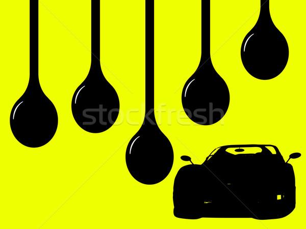 Oils Drips Stock photo © PokerMan