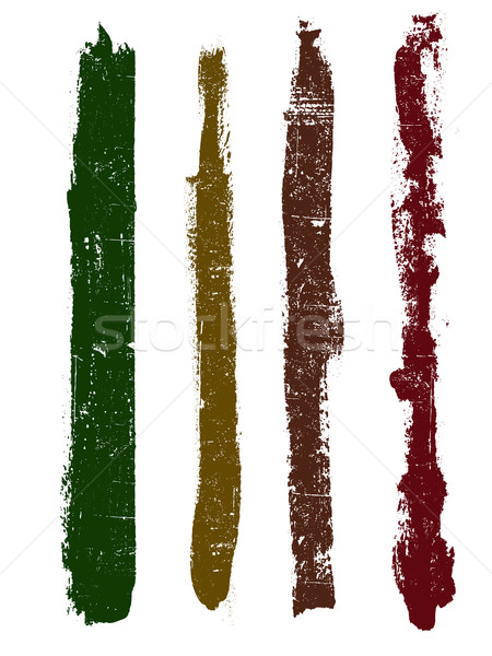 Гранж Элементы линия подробный вектора Сток-фото © PokerMan