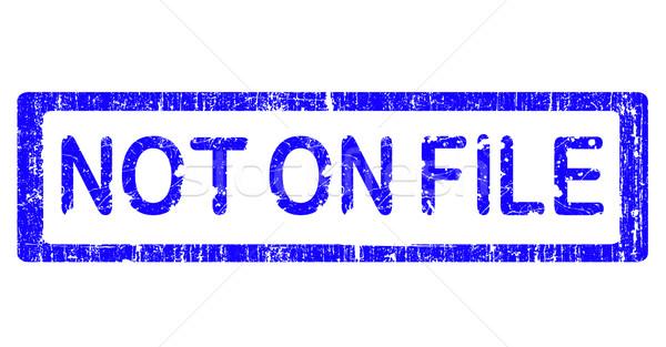 Гранж служба штампа не файла слов Сток-фото © PokerMan