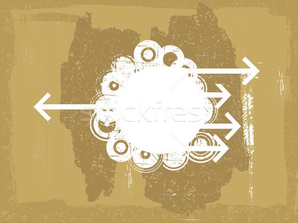 способом сейчас белый Круги Гранж Сток-фото © PokerMan