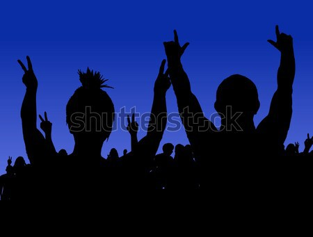 Rock Concert Stock photo © PokerMan