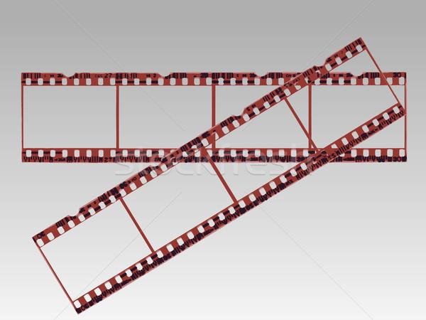 Transparent Film Strips in Vector format Stock photo © PokerMan