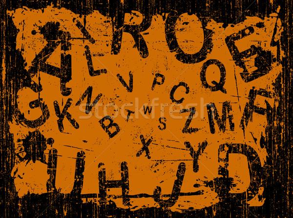 письме полный Гранж письма падение текстуры Сток-фото © PokerMan
