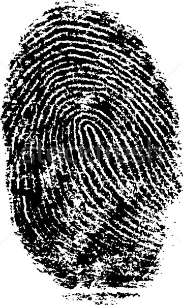 FingerPrint 5 Stock photo © PokerMan