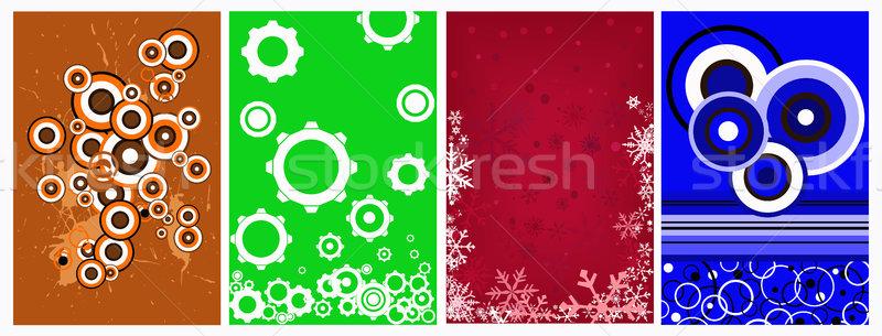 графических Элементы вектора можете фоны обои Сток-фото © PokerMan