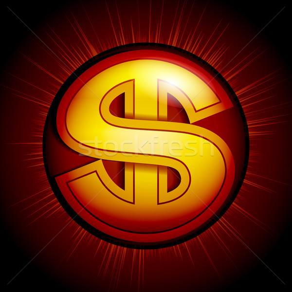 Dollar sign Stock photo © polygraphus