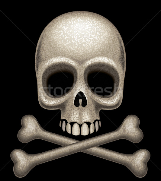 Skull and crossbones Stock photo © polygraphus