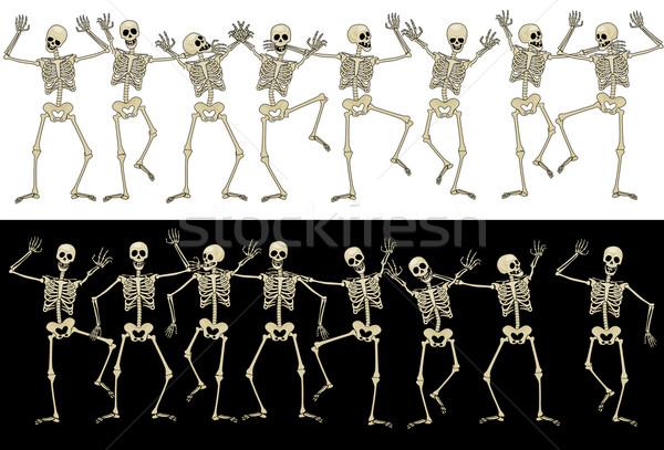 Fun skeletons Stock photo © polygraphus