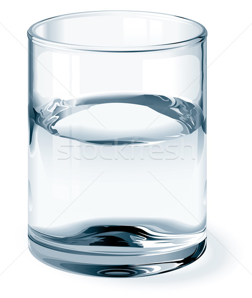 Glass of water Stock photo © polygraphus