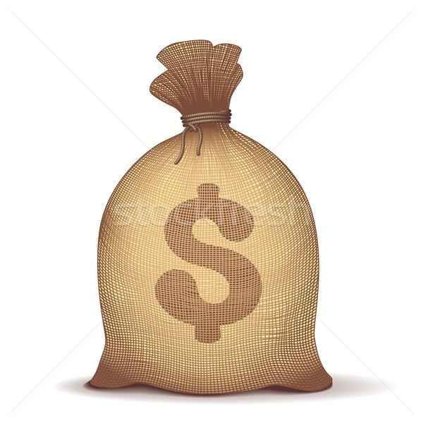 Money bag Stock photo © polygraphus