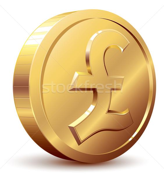 Pound coin Stock photo © polygraphus