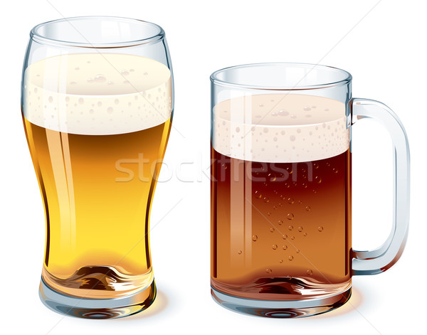 Beer glass Stock photo © polygraphus