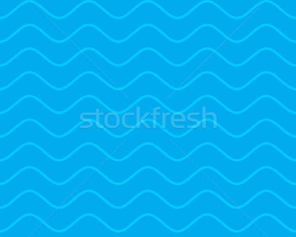 Sea seamless pattern. Waves texture. Ocean ornament. Marine back Stock photo © popaukropa