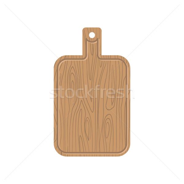 Tabla de cortar cocina corte Foto stock © popaukropa