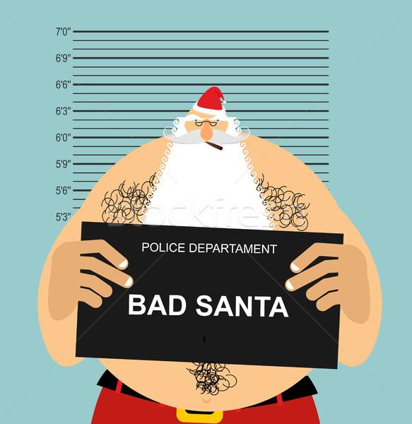 Politie slechte crimineel ondeugend Stockfoto © popaukropa