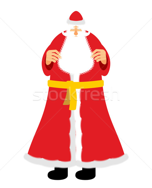 русский деда мороз Дед Мороз новых лет Сток-фото © popaukropa