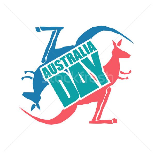 Ausztrália nap hagyományos ausztrál hazafias ünnep Stock fotó © popaukropa