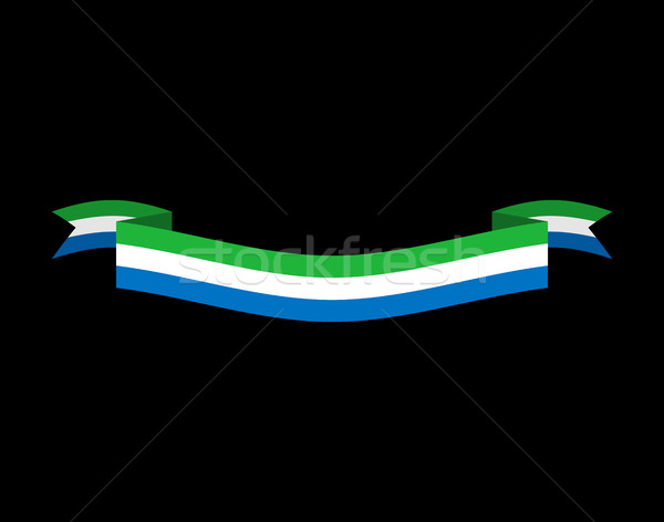 Bandera cinta aislado república cinta banner Foto stock © popaukropa