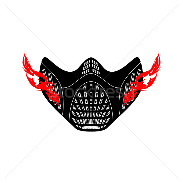 Elevation Training mask isolated. sports accessory for Athlete Stock photo © popaukropa