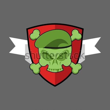 Askeri amblem paintball logo ordu imzalamak Stok fotoğraf © popaukropa