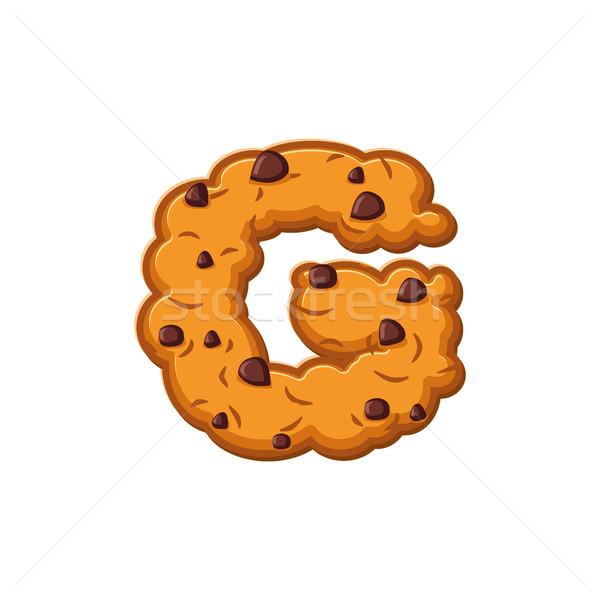 Lettre cookies cookie police biscuit Photo stock © popaukropa