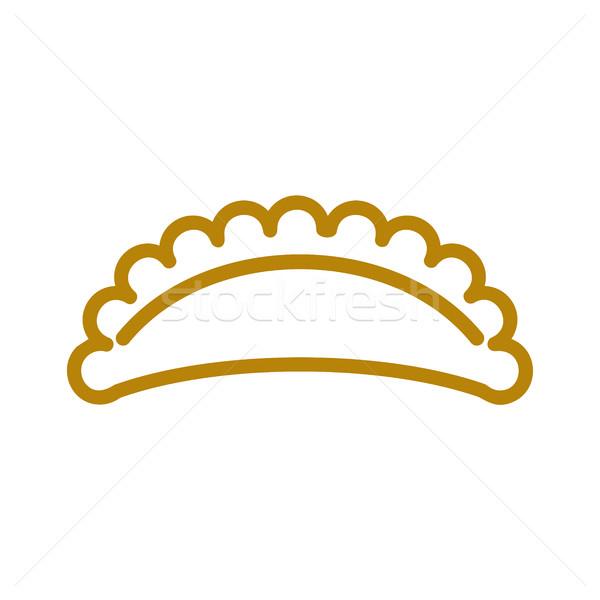 行 アイコン 小麦 にログイン 生産 パン ストックフォト © popaukropa