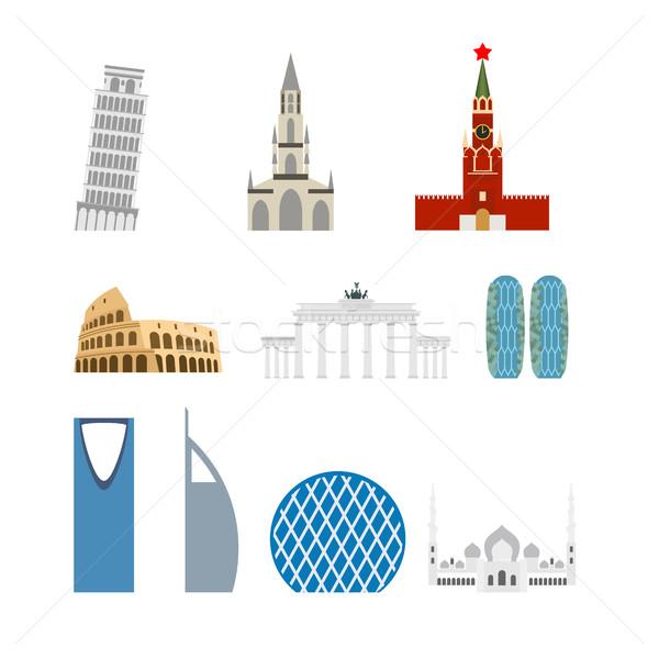 набор ориентир Германия Россия привлечение Дубай Сток-фото © popaukropa