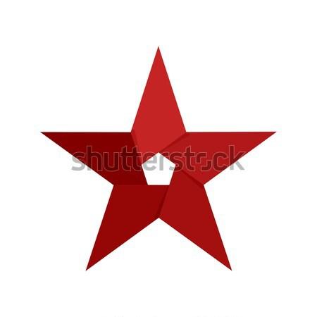 звездой эмблема аннотация логотип компания знак Сток-фото © popaukropa