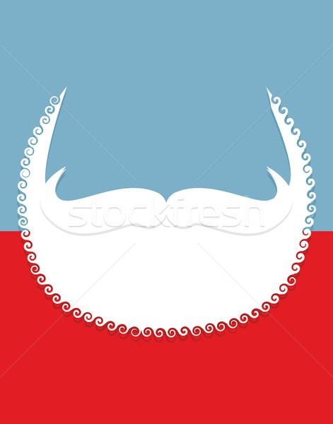 Сток-фото: борода · усы · Рождества · Дед · Мороз