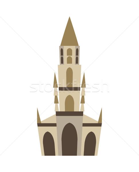 Bern Minster isolated. Historic architecture landmark of Switzer Stock photo © popaukropa