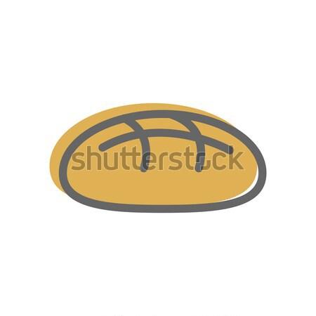 パン 行 スタイル ベーカリー アイコン にログイン ストックフォト © popaukropa