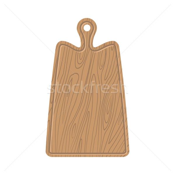 まな板 木製 キッチン カット ストックフォト © popaukropa