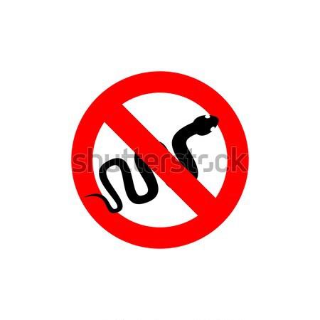 остановки мужчин красный знак мужчины Сток-фото © popaukropa