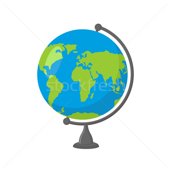 School Globe -  model of  Earth. Model of celestial sphere of pl Stock photo © popaukropa
