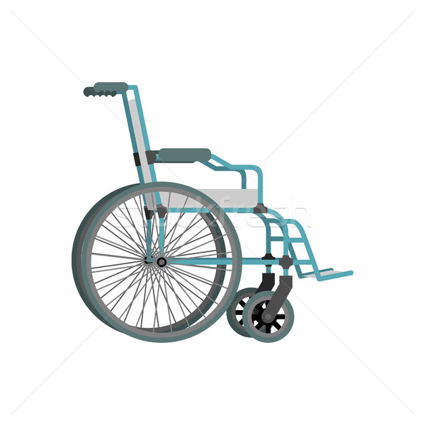 Wheelchair on white background.  Means of transportation for peo Stock photo © popaukropa