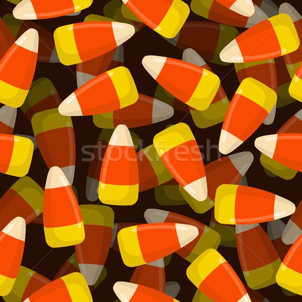 Mısır şeker 3D şekerleme doku Stok fotoğraf © popaukropa