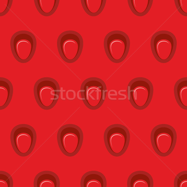 Jugoso fresa vector textura maduro Foto stock © popaukropa